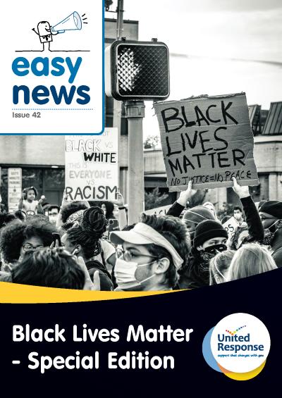 Easy News : Black Lives Matter cover